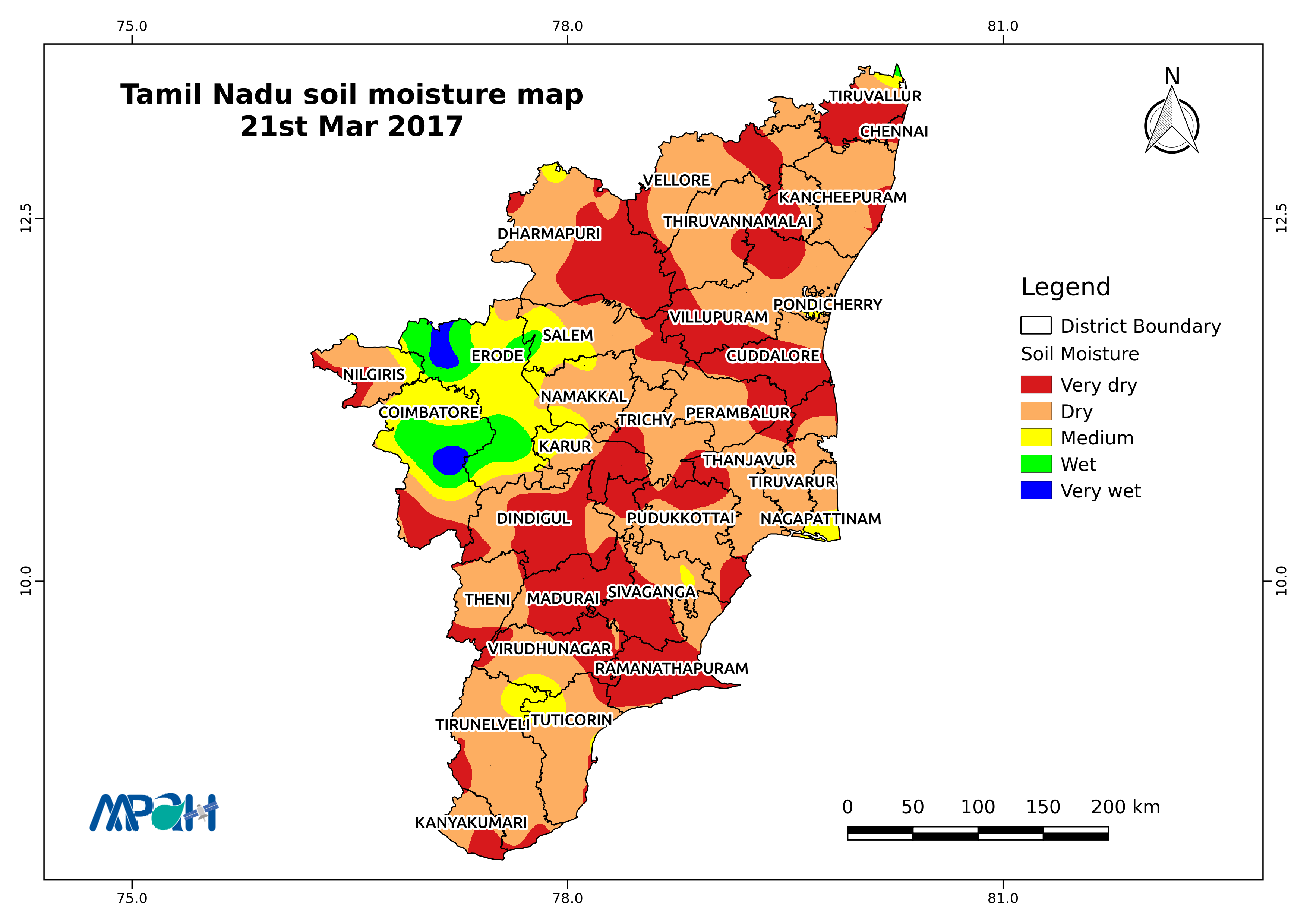 Soil moisture map for the state of tamil nadu aapah innovations soil moisture map for the state of tamil nadu gumiabroncs Image collections
